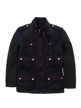 Куртка Human Scales Multipocket Cotton Navy Jacket