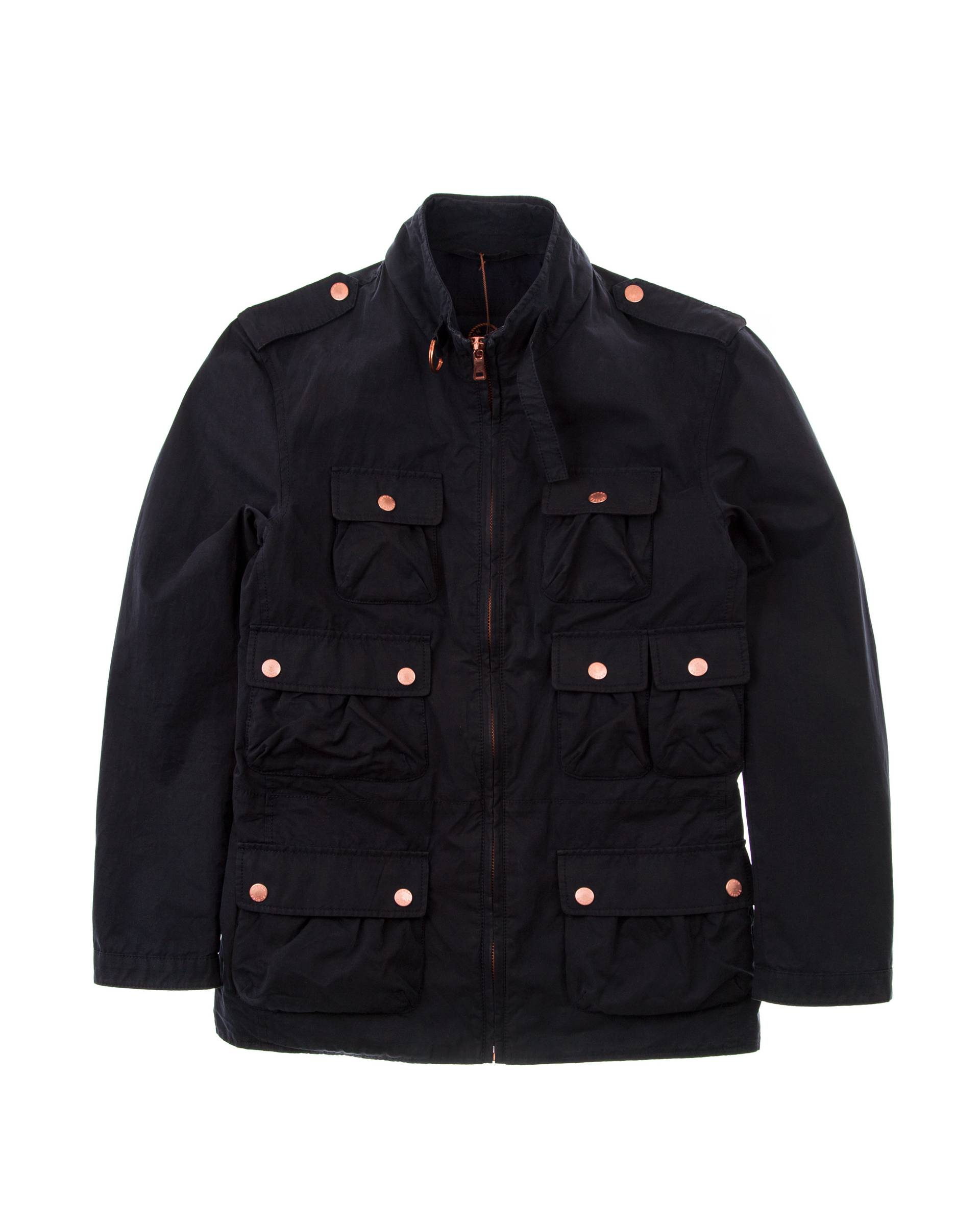 Ветровка Human Scales Multipocket Navy Jacket