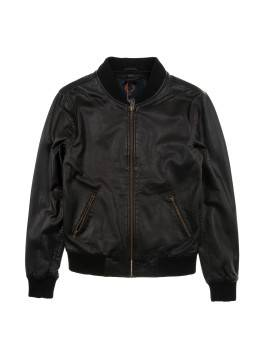 Куртка Human Scales Leather Russel Black Jacket