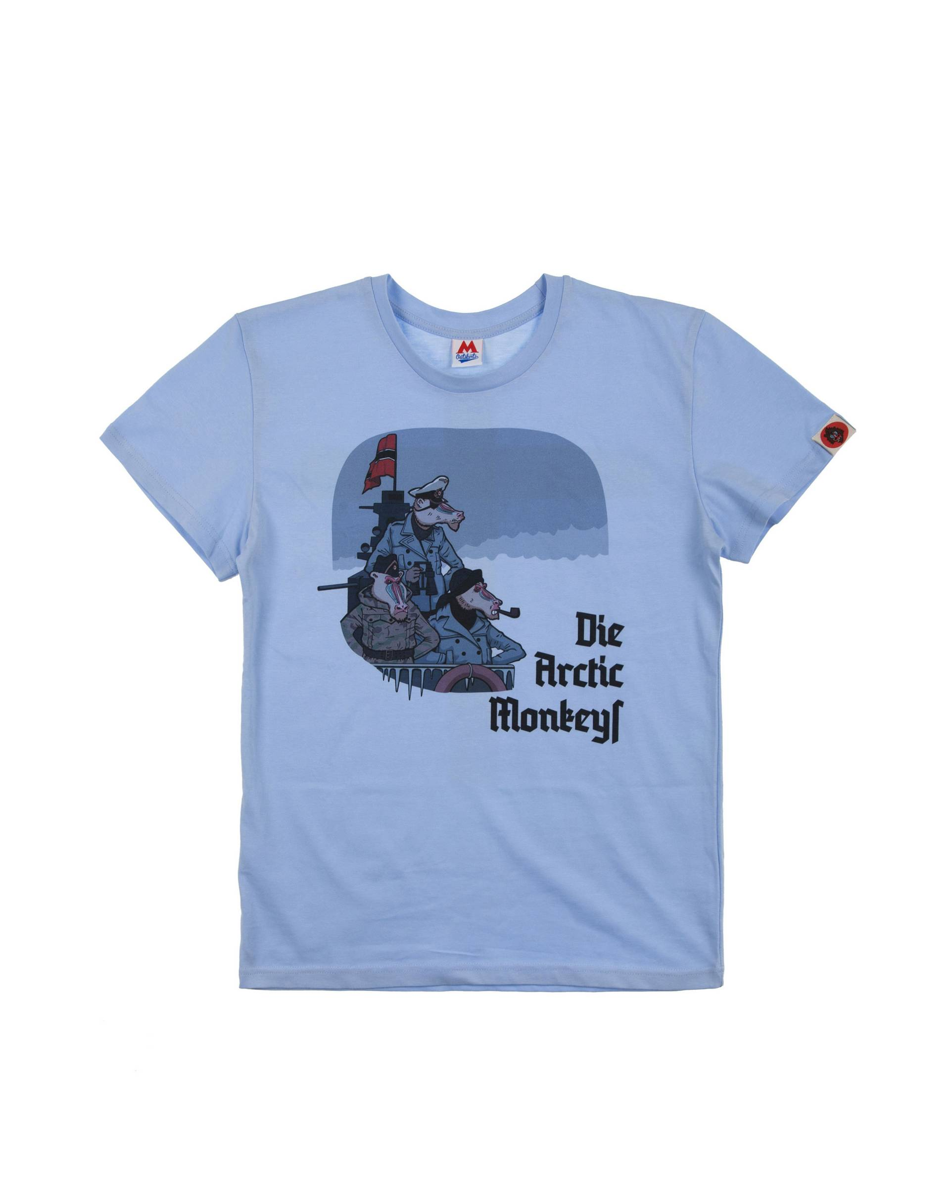 Футболка Outskirts Moscow Blue Die Arctic Monkey Tee