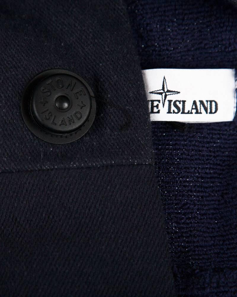 Халат Stone Island Marina Navy Bathrobe