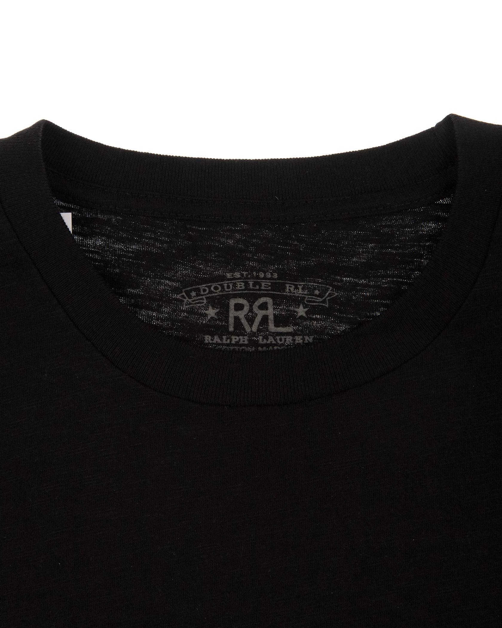 Футболка Ralph Lauren RRL Black Tee