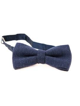 Галстук-бабочка Human Scales Navy Butterfly Tie