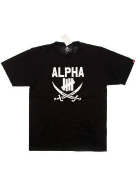 Футболка Undefeated X Neirghbohood Alpha Black Tee
