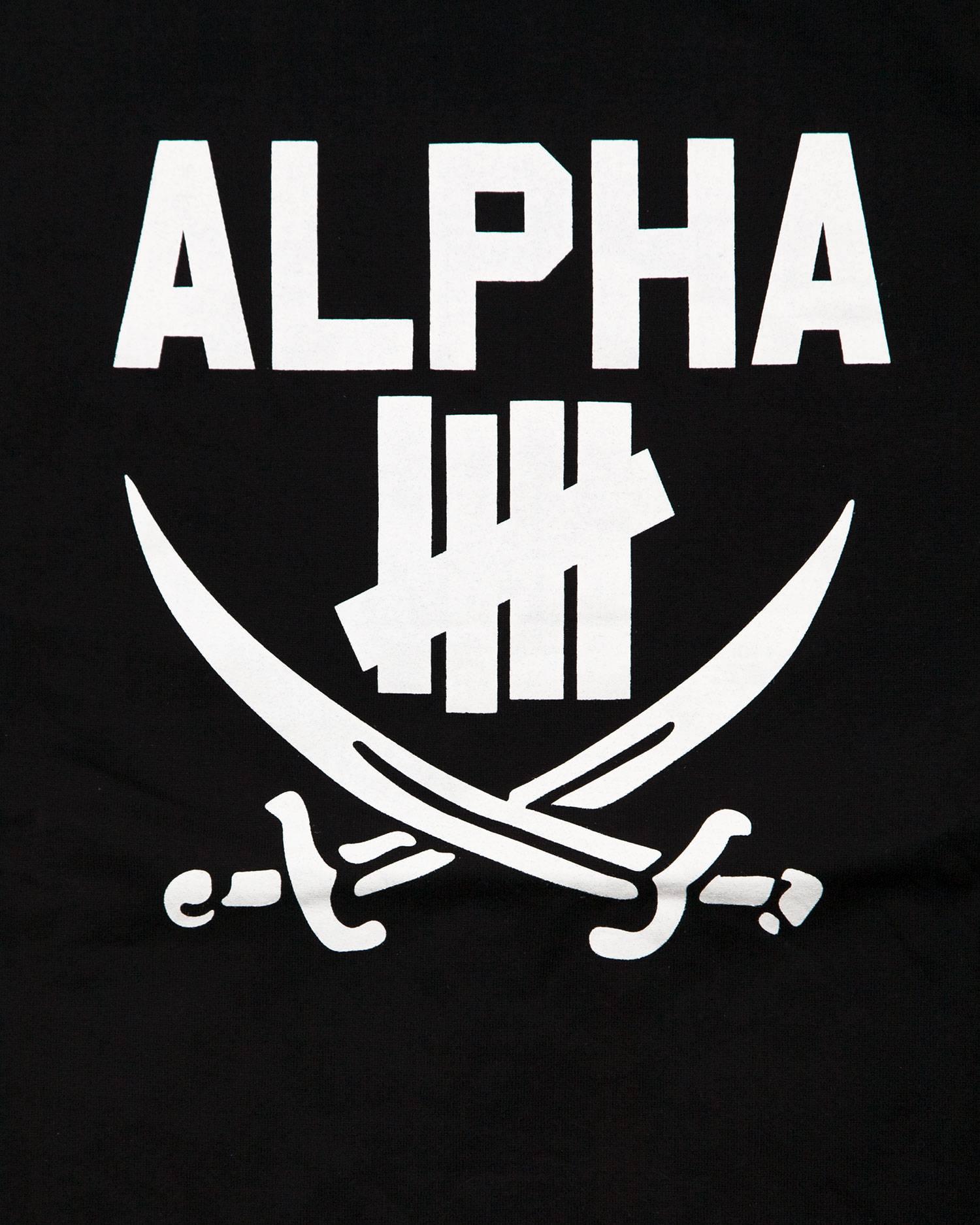Футболка Undefeated X Neirghbohood Alpha Black Tee