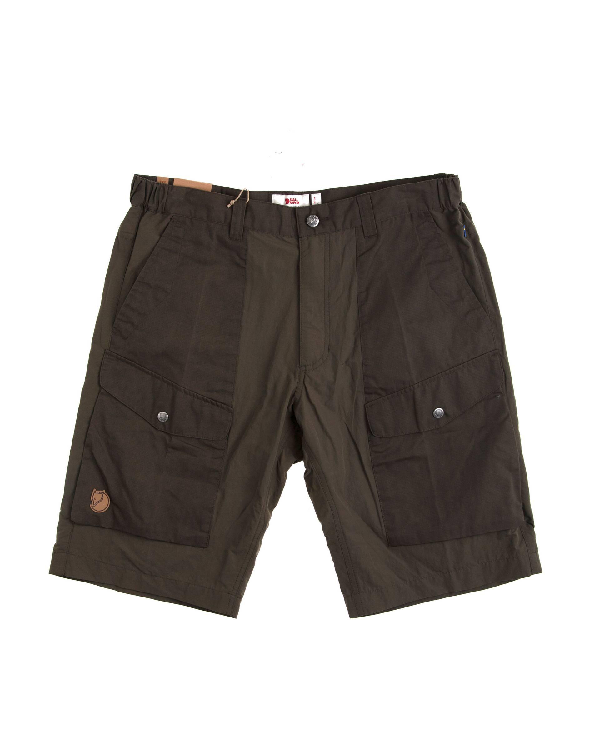 Шорты Fjallraven Abisco Hybrid Olive Shorts