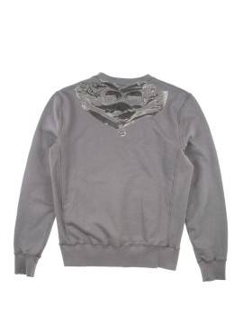 Свитшот C.P.Company Pocket Grey Back Print Sweat