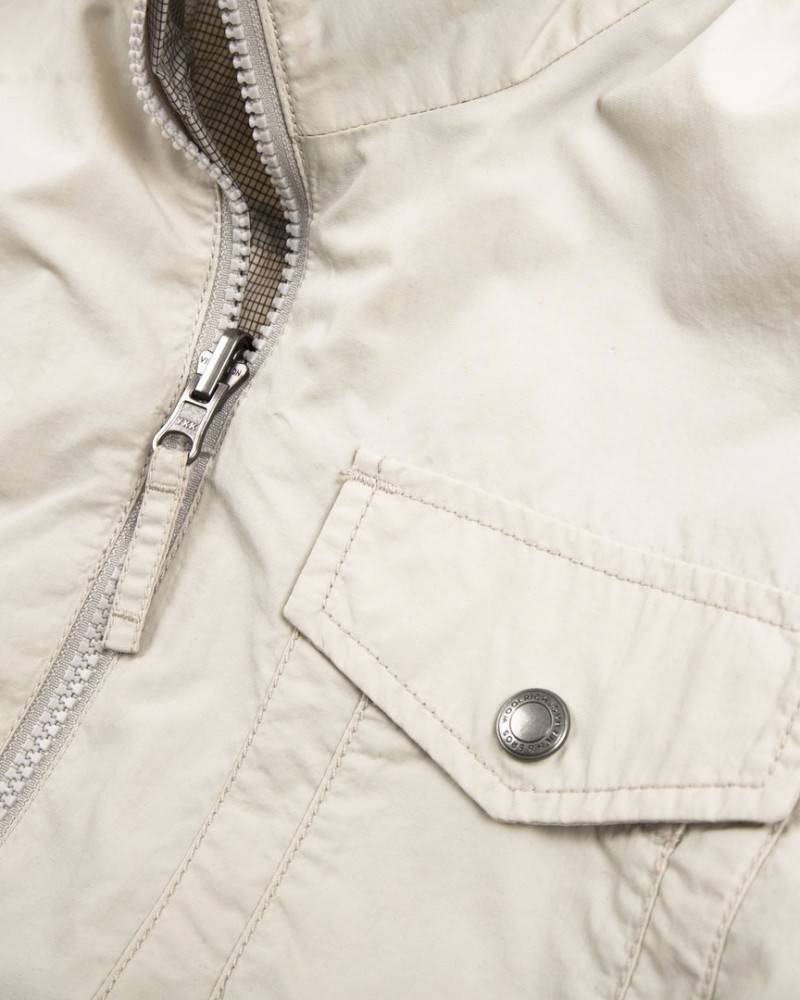 Ветровка Woolrich Reversible Light Grey Jacket