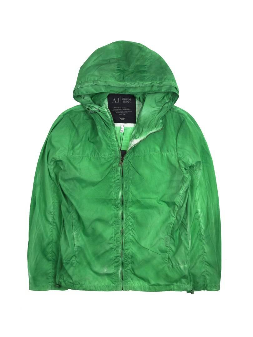 Ветровка Armani Bright Green