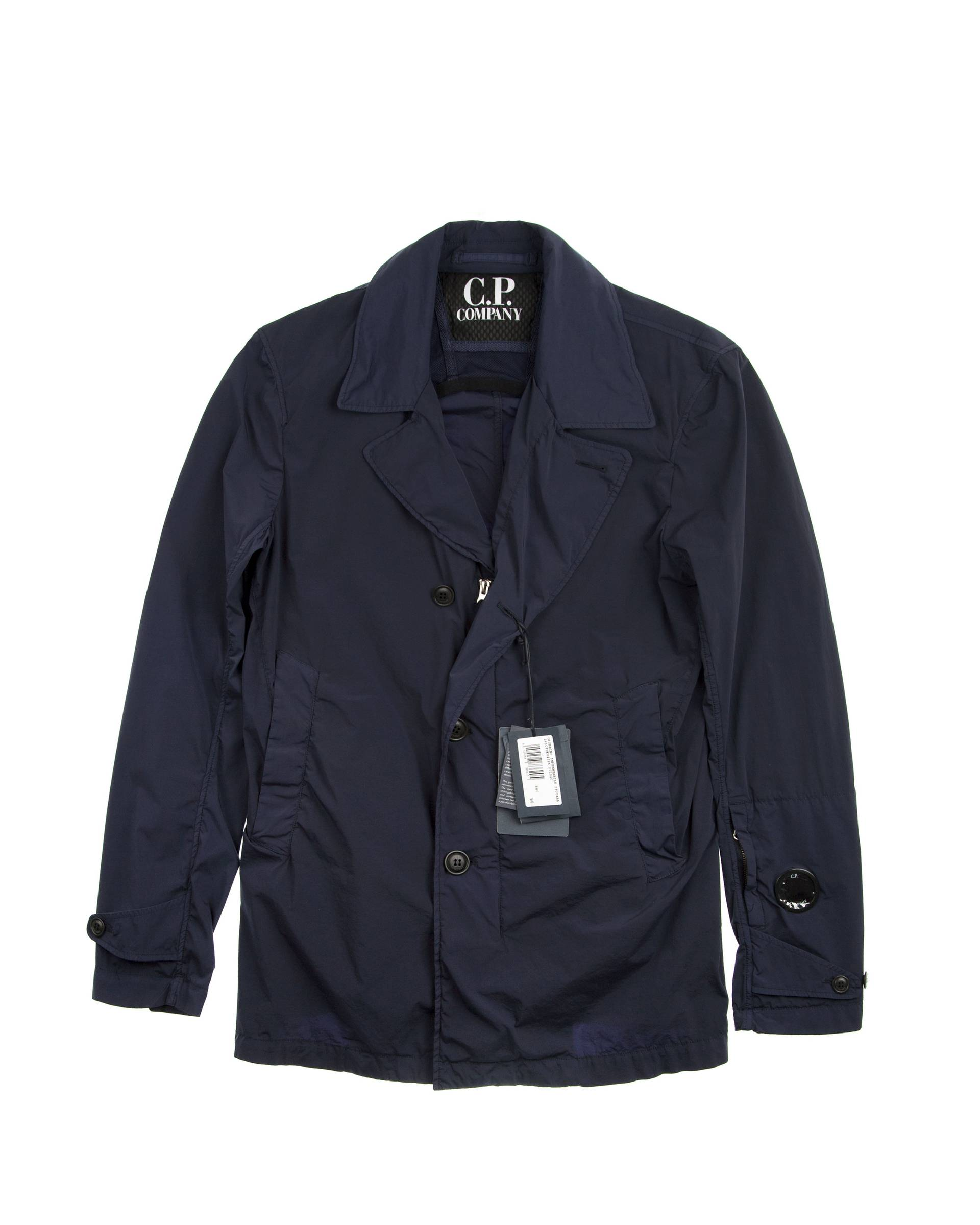 Плащ C.P.Company Navy WW Coat.
