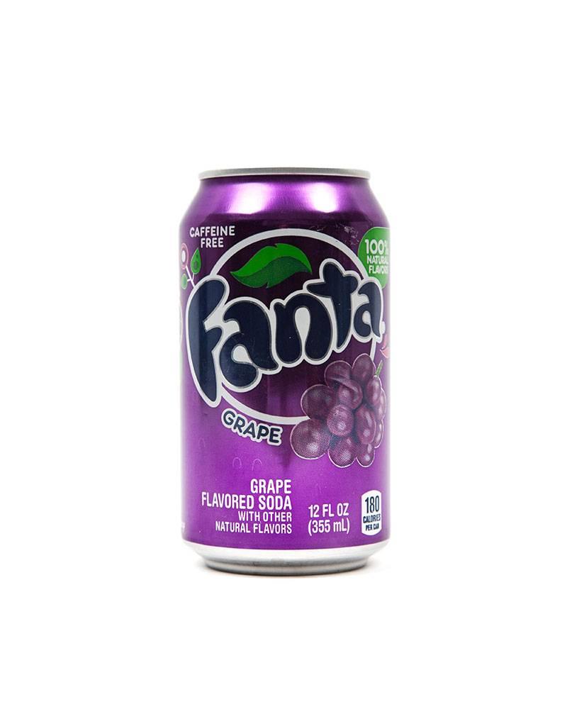 Лимонад Fanta Grape.
