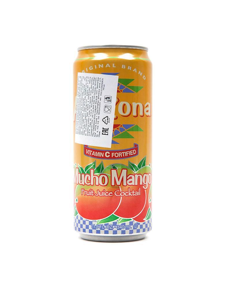Лимонад Arizona Mucho Mango.