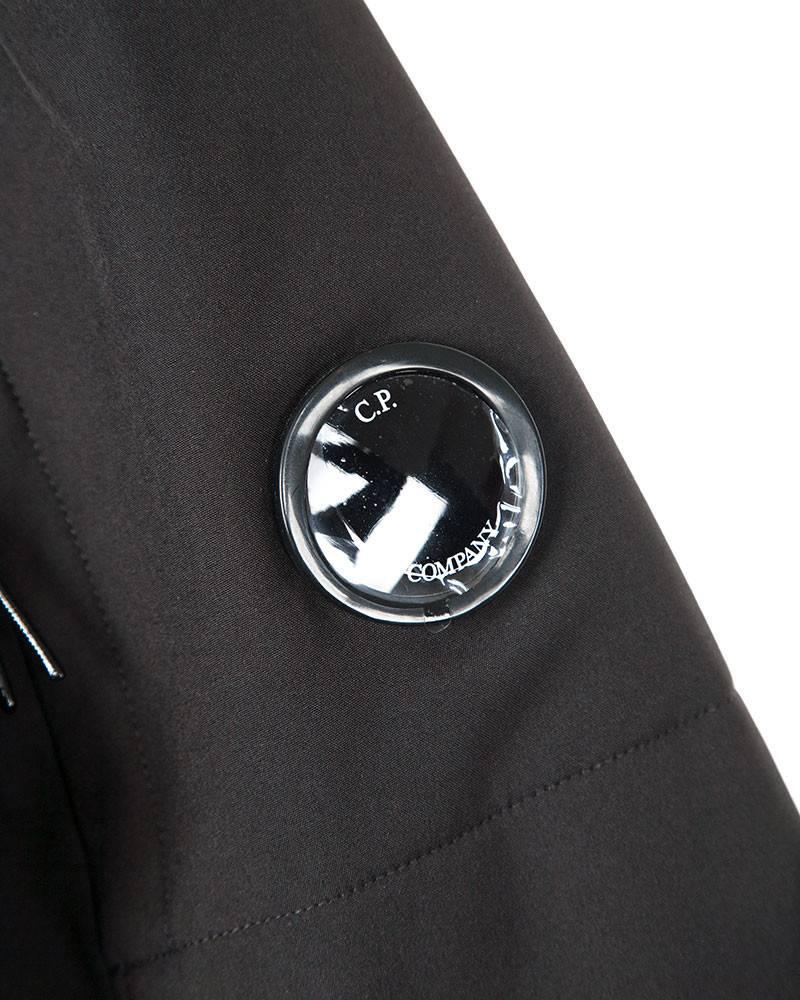 Куртка C.P.Company Soft Shell Black WW Bomber.