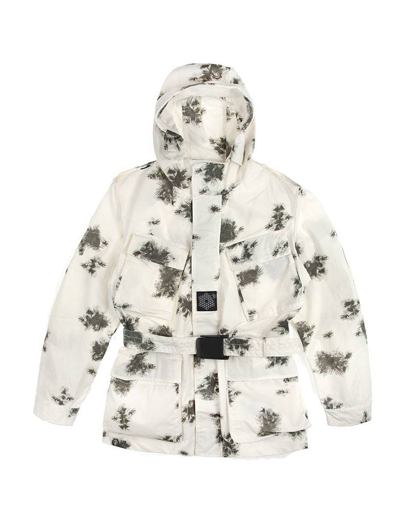 Куртка Plurimus Grey Snow Camo Jacket.