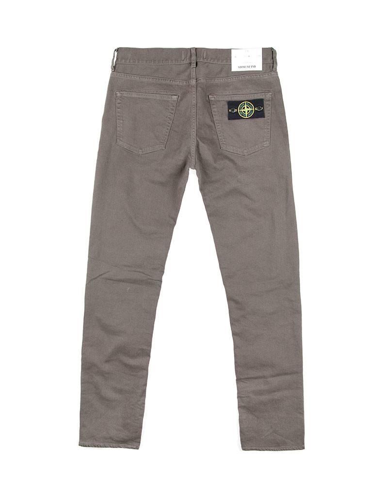 Джинсы Stone Island Grey-Olive Slim Jeans.
