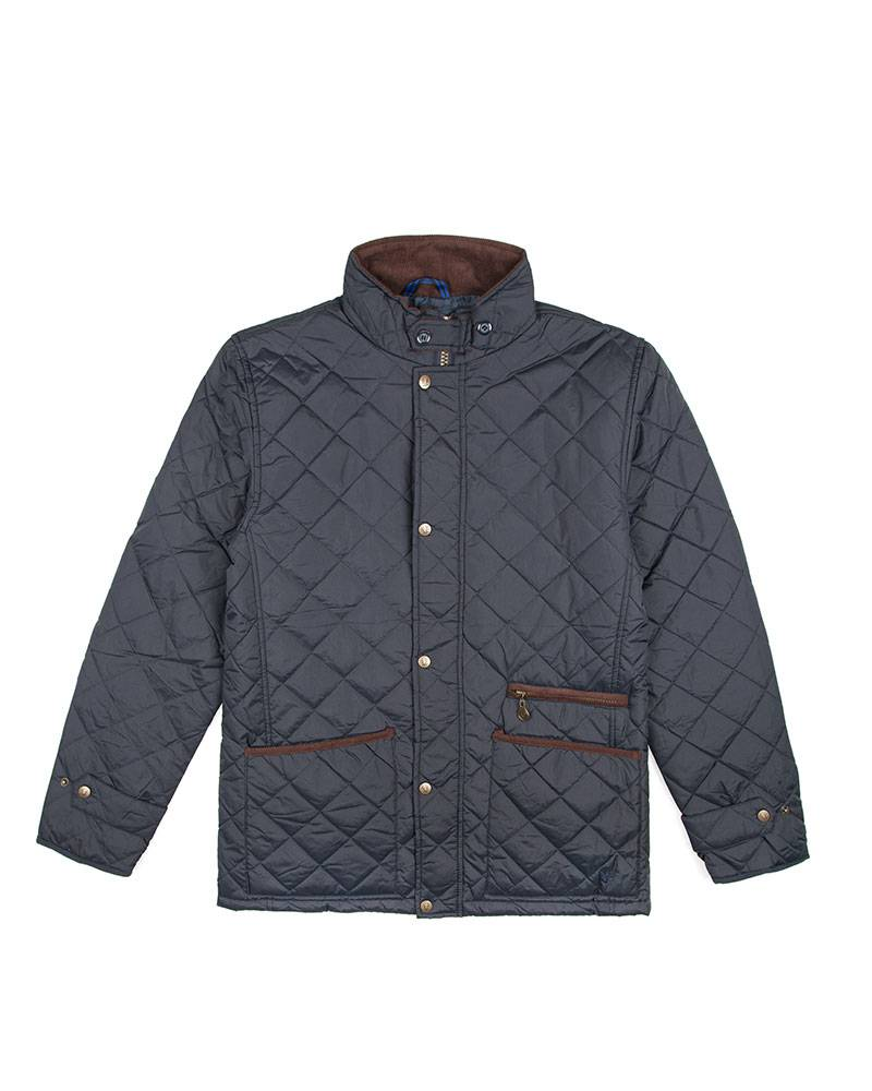 Куртка Vedoniere Quilted Navy Jacket