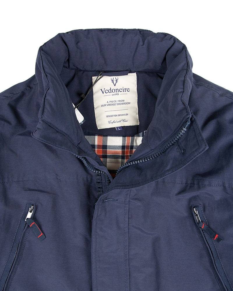 Куртка Vedoniere M-65 Nylon Navy Jacket.