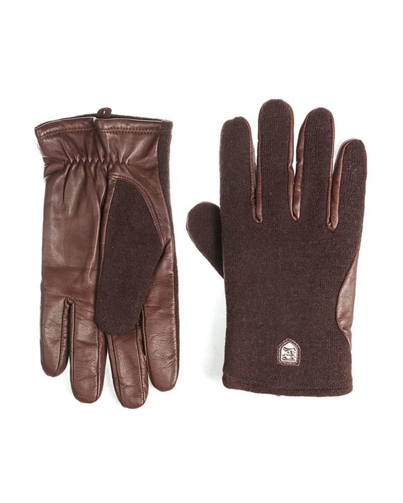 Перчатки Hestra Brown HairSheep Wool\Tricof Gloves.
