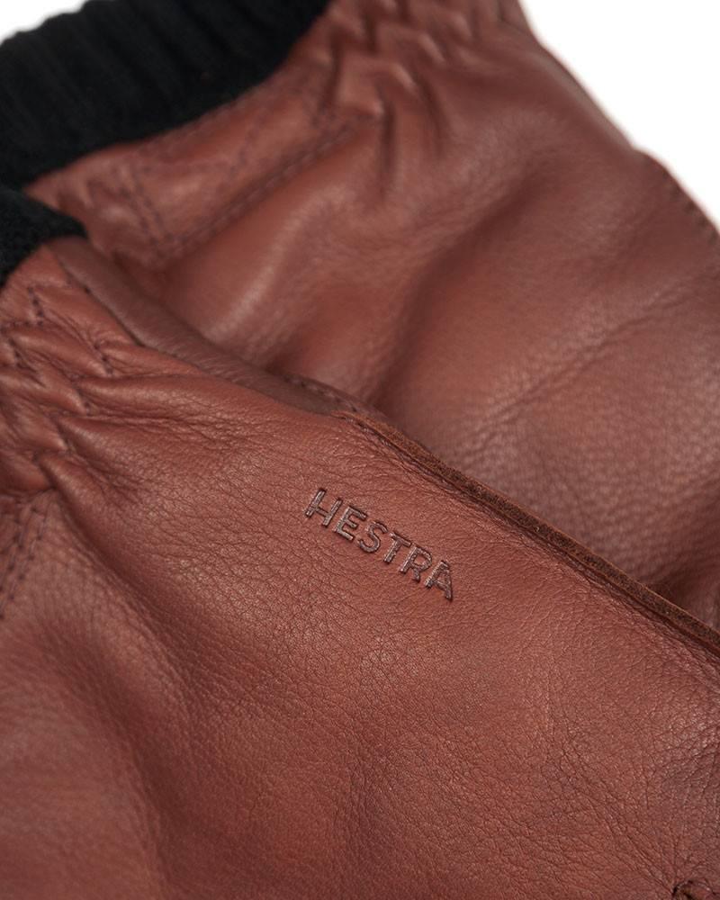 Перчатки Hestra Primaloft Brown Leather Gloves