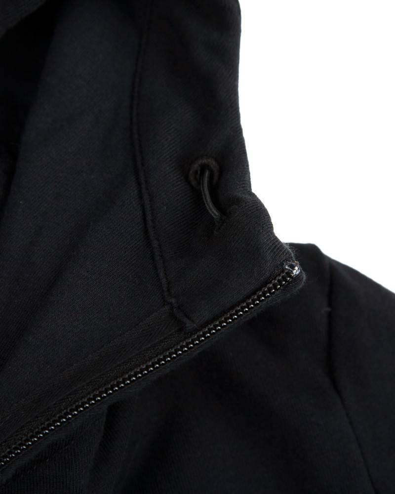Худи C.P. Company Heavy Jersey Goggle Hoody Черное