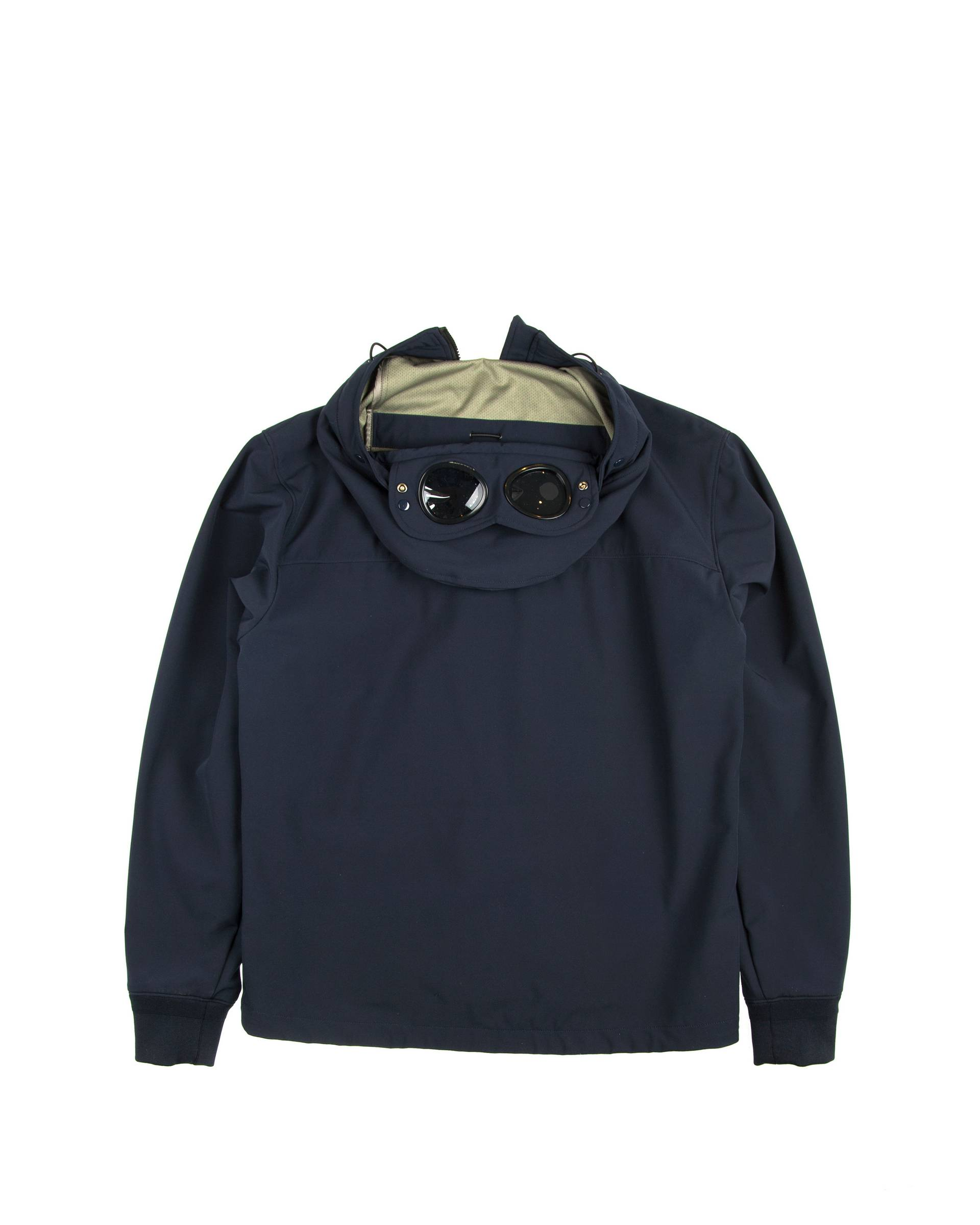 Ветровка C.P. Company Softshell Goggle Jacket Темно-синяя