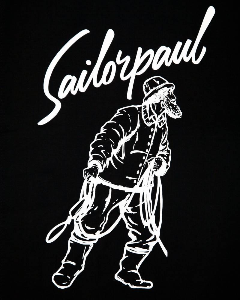Футболка SailorPaul Fisherman Black Tee
