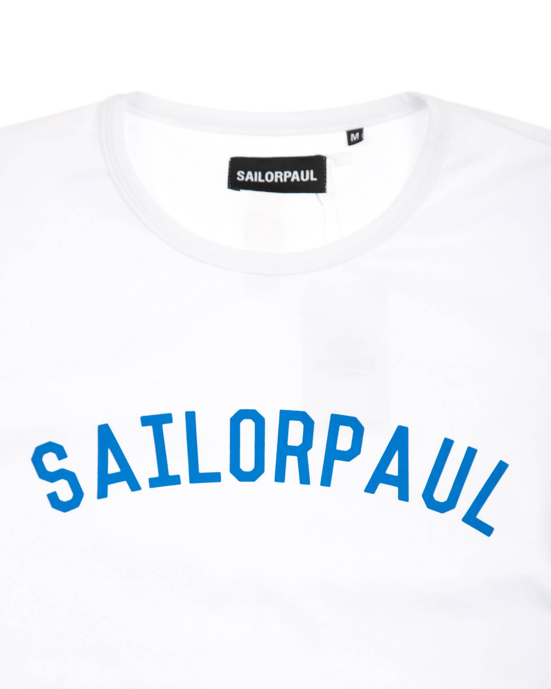 Футболка SailorPaul Logo White Tee