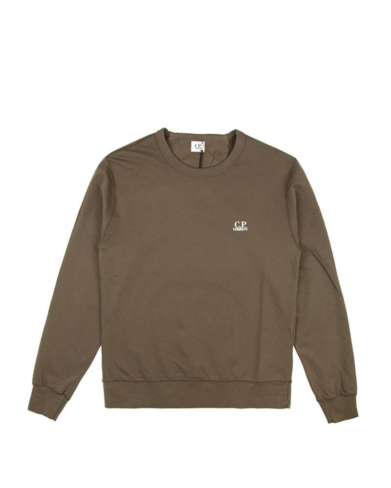 Свитшот C.P.Company Small Logo Olive Sweatshirt