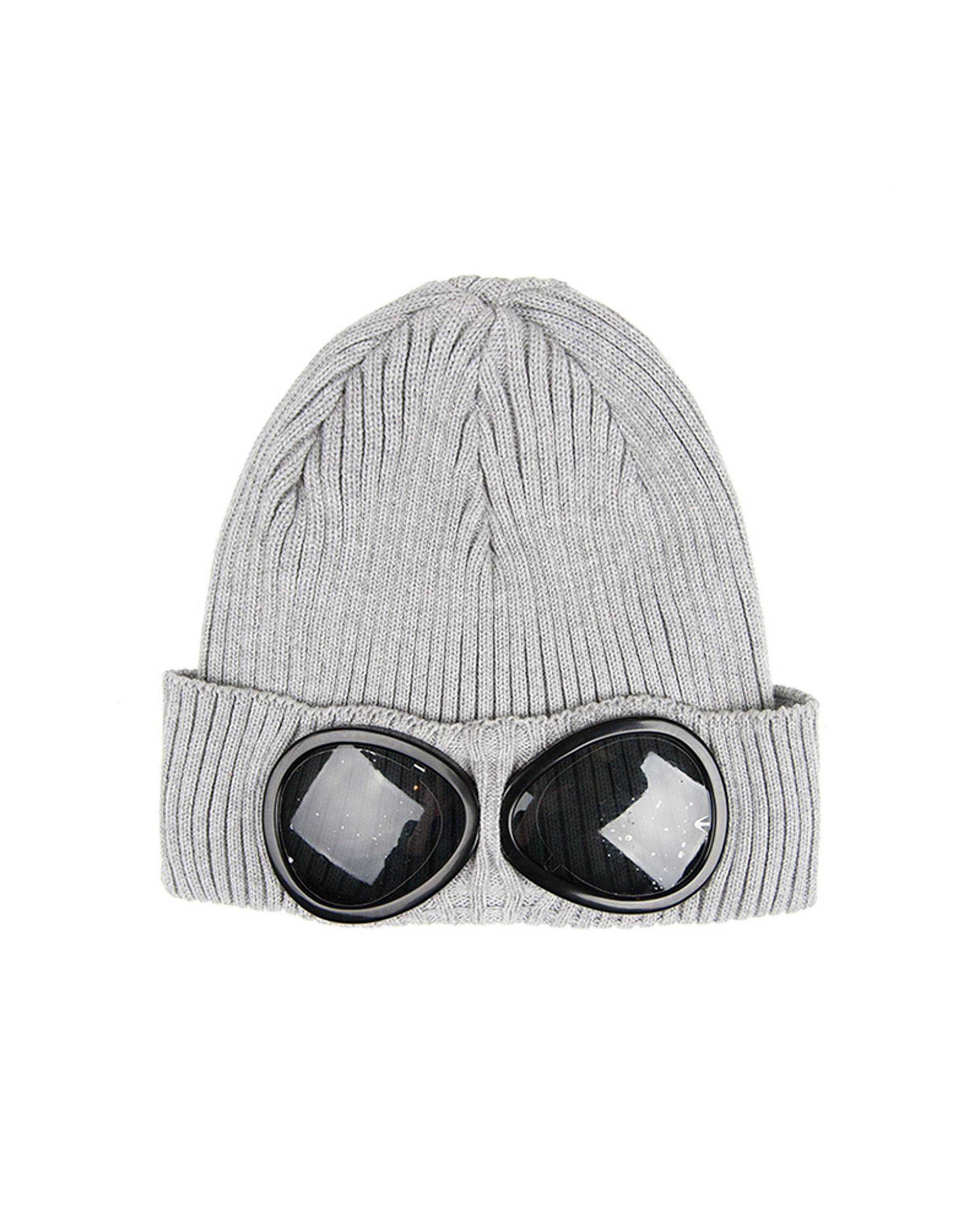 Шапка C.P. Company Goggle Beanie Light Grey