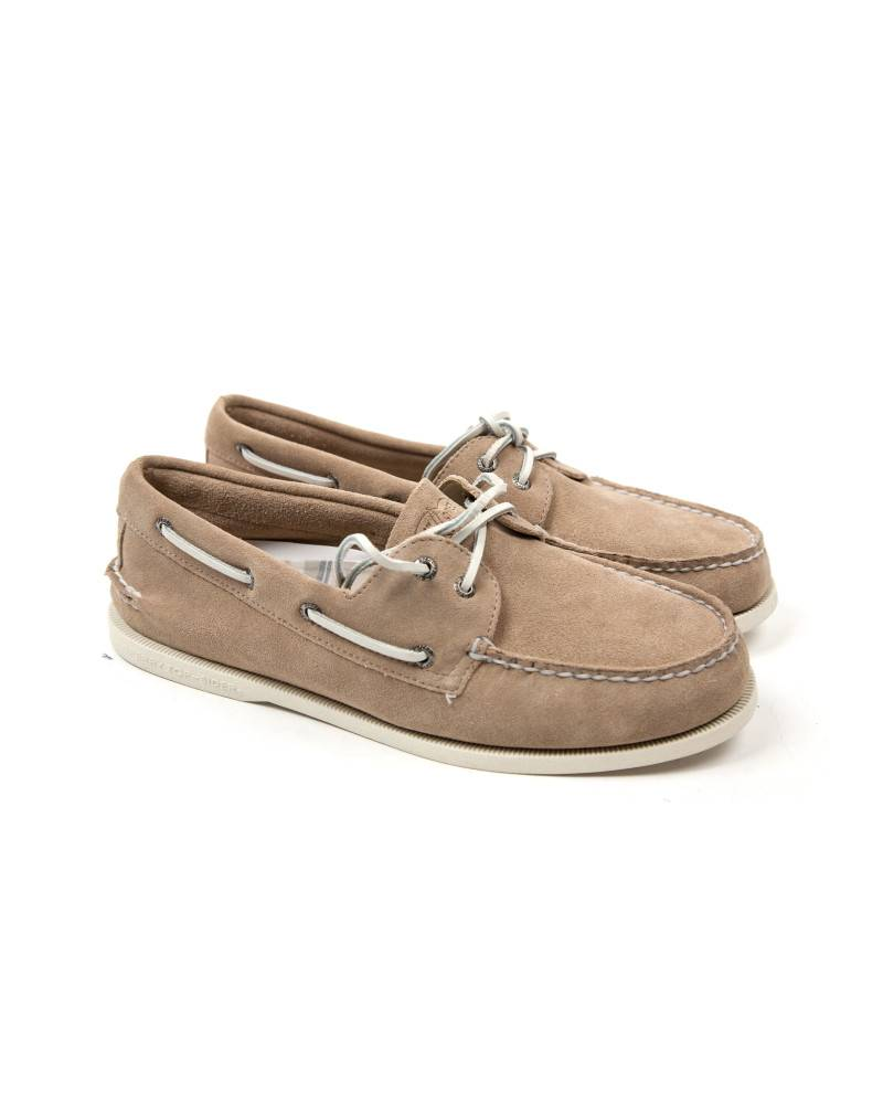 Топсайдеры Sperry Light Brown Suede Topsider