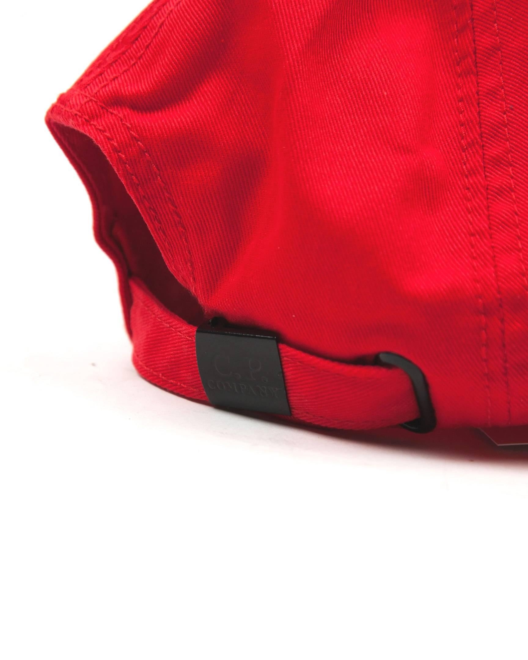 Кепка C.P.Company Red Cap