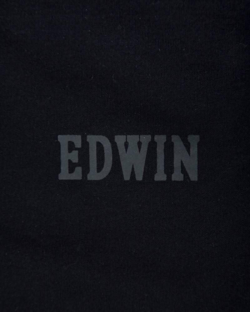 Свитшот Edwin Classic Crew Logo Sweatshirt Черный