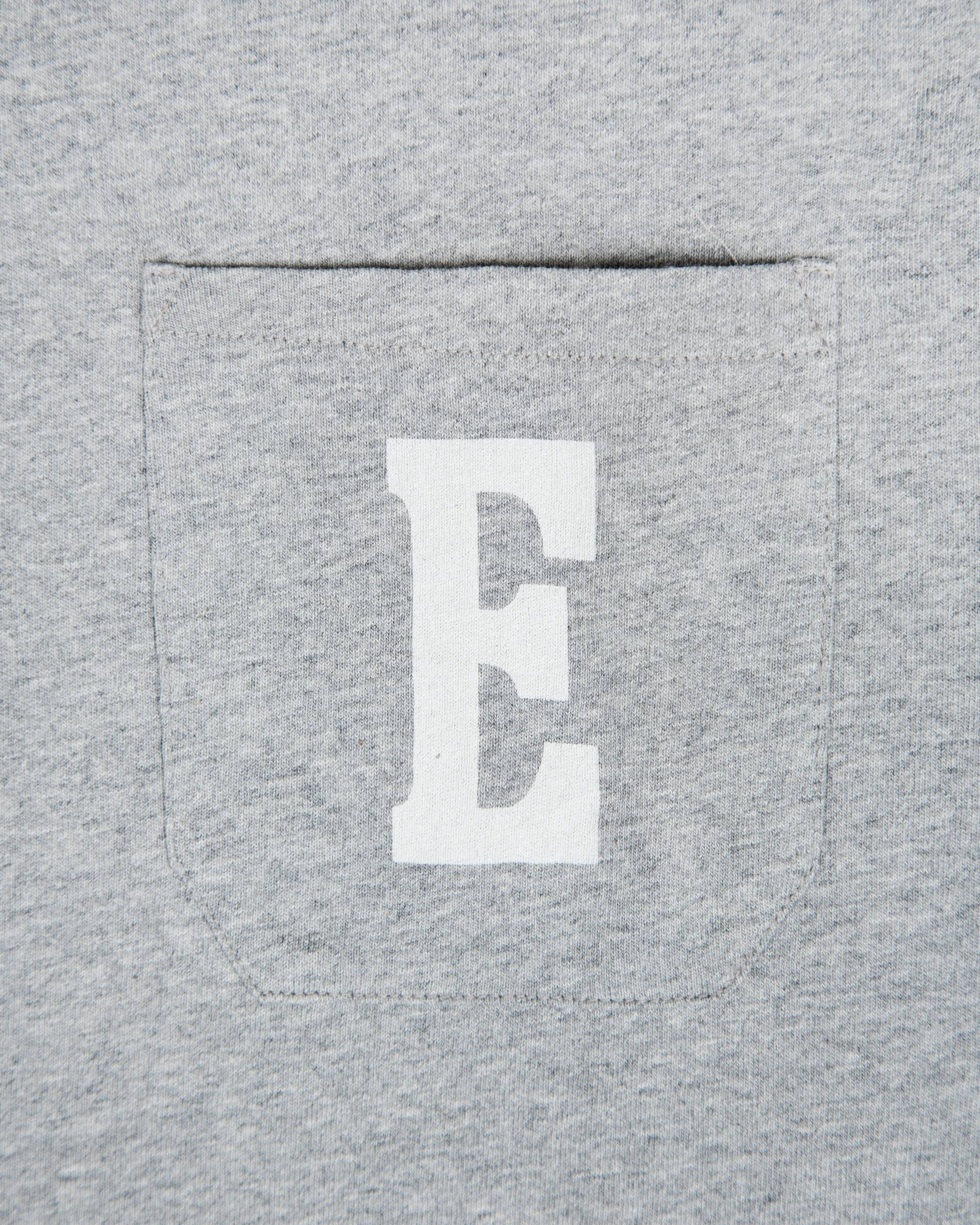 Лонгслив Edwin Pocket Logo LS Type 1 Серый