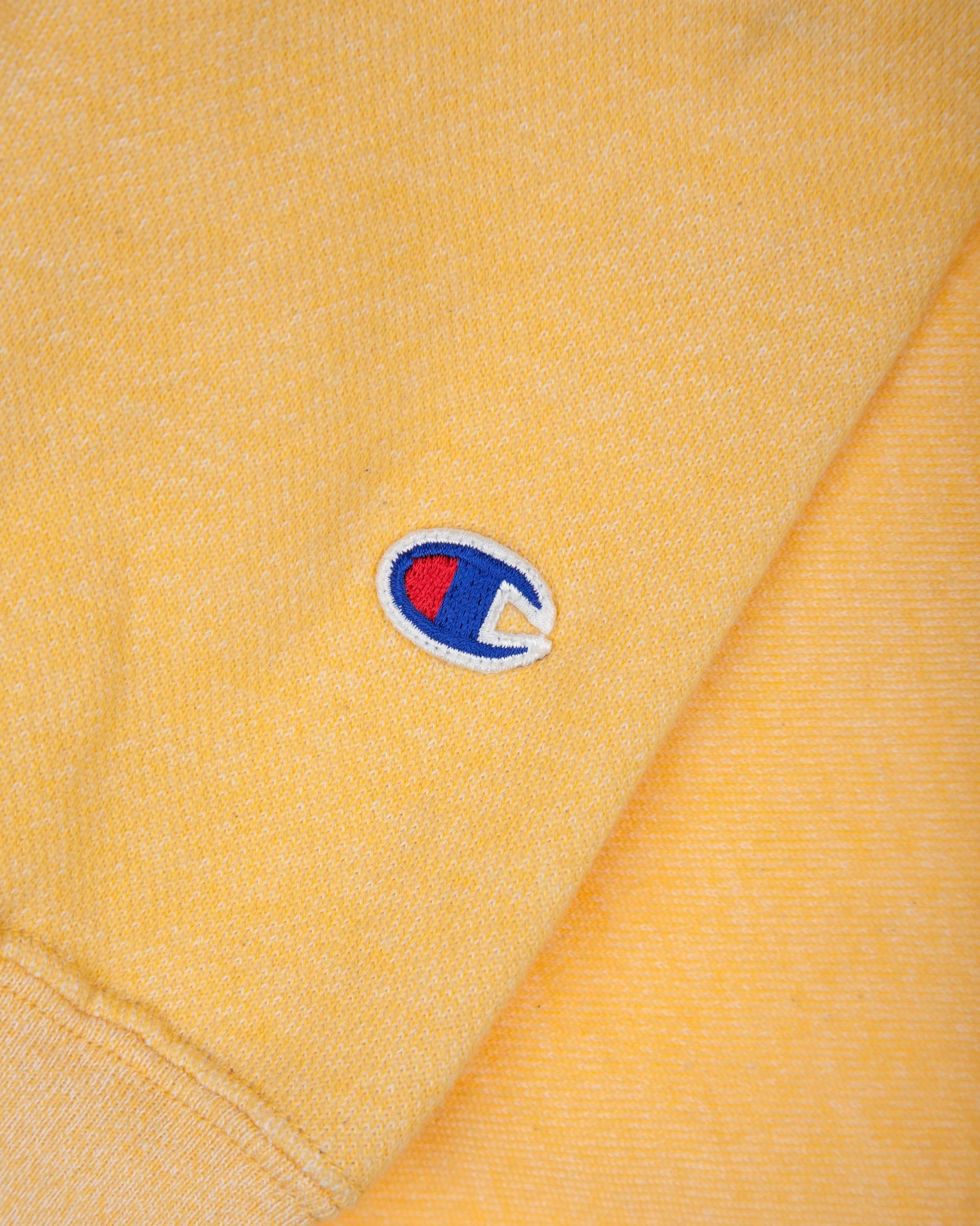 Худи Champion Reverse Weave Yellow Zip