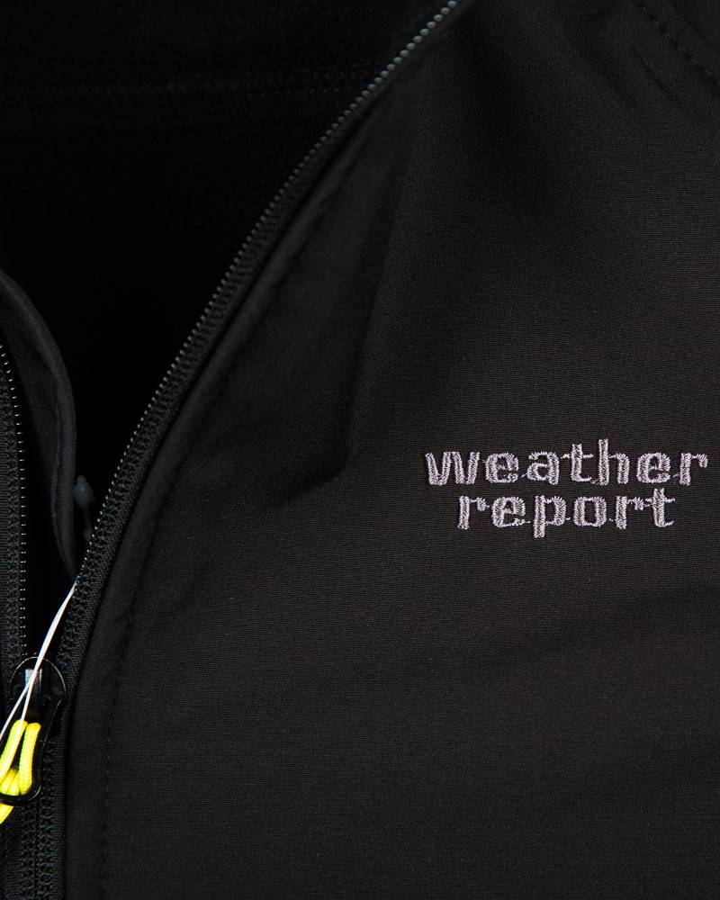 Ветровка Weather Report Soft Shell Чёрная