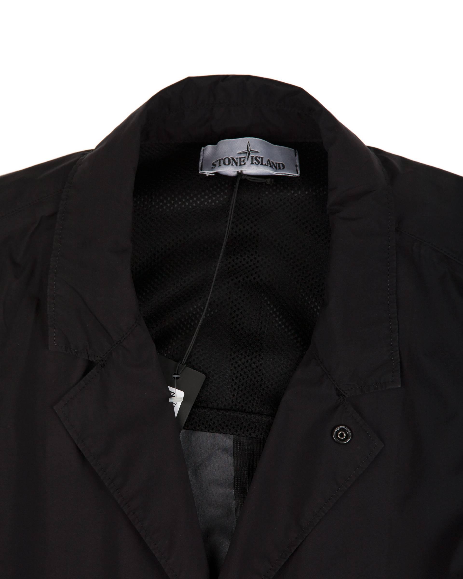 Куртка Stone Island Garment Dyed Perfomance Tela Черная