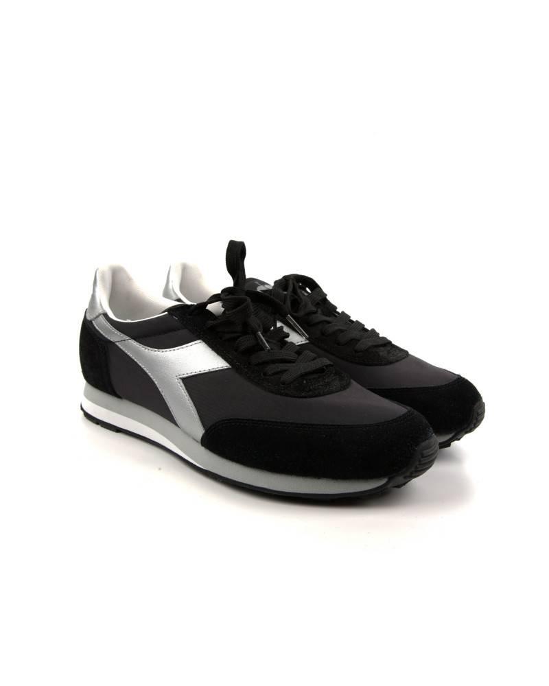 Кроссовки Diadora Jogging II Black/Silver