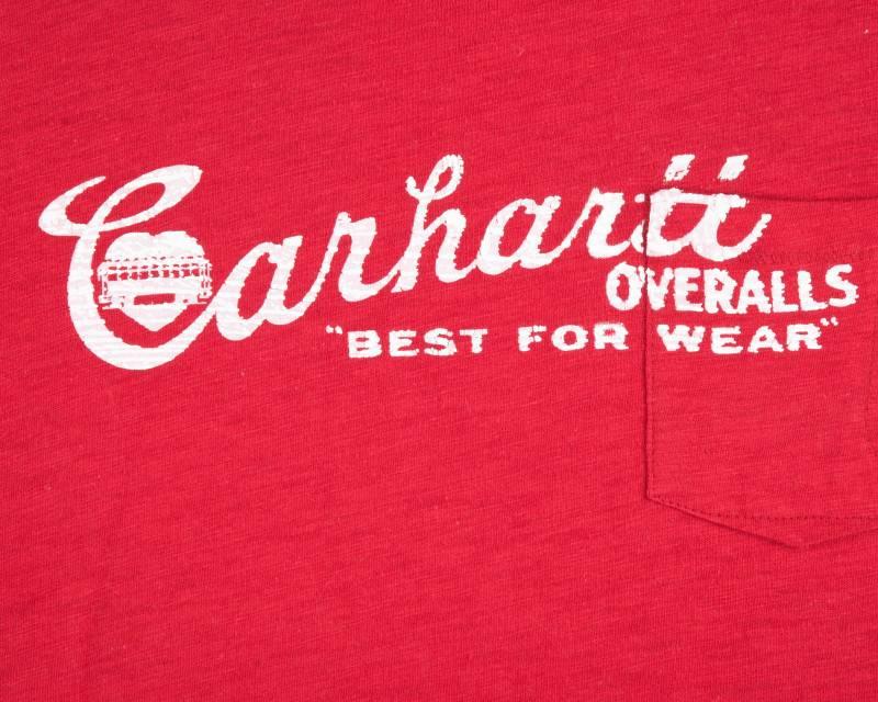 Футболка Carhartt Overalls Red