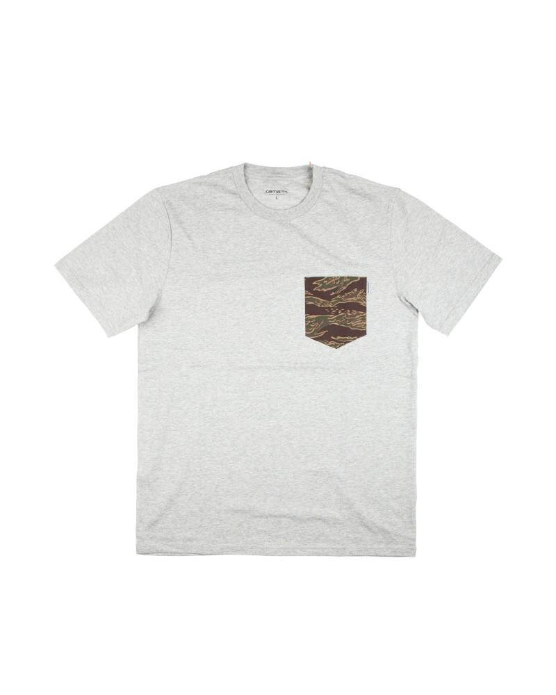 Футболка Carhartt Camo Pocket Grey