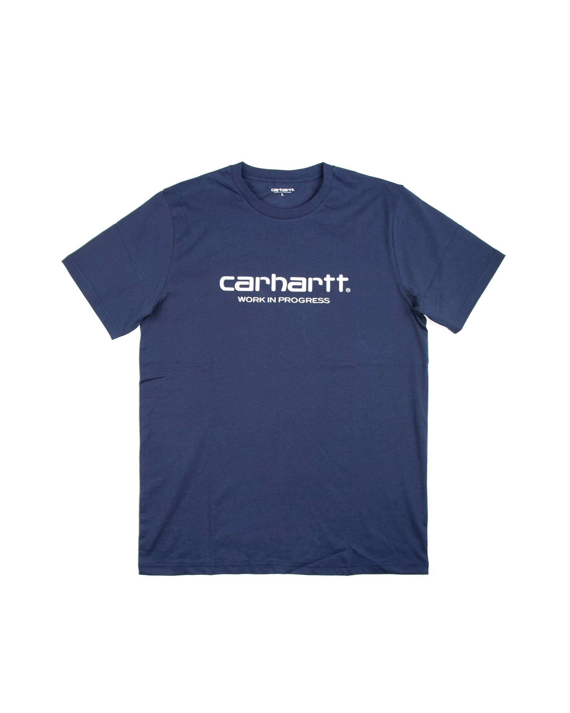 Футболка Carhartt Logo Navy