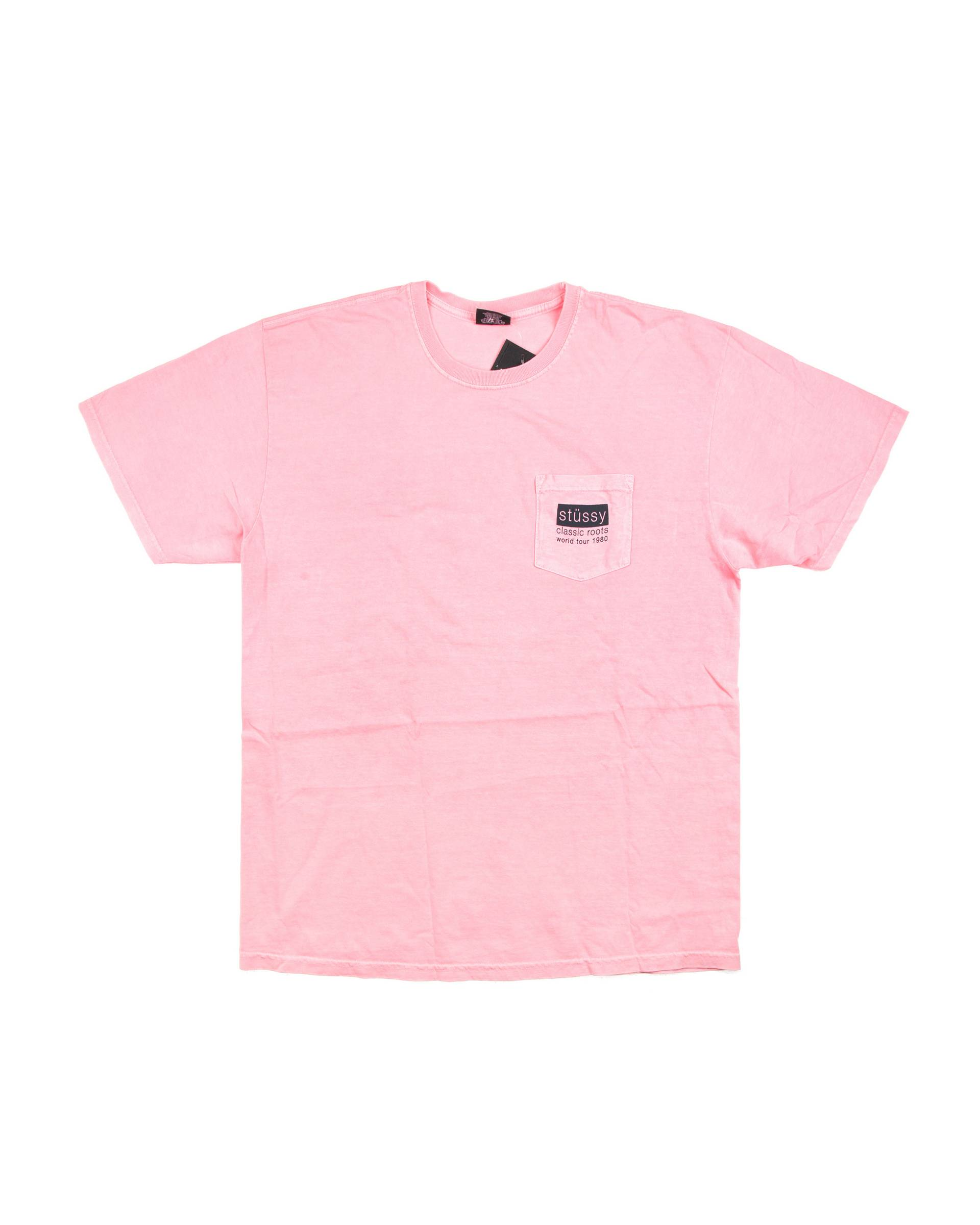 Футболка Stussy Logo Pink