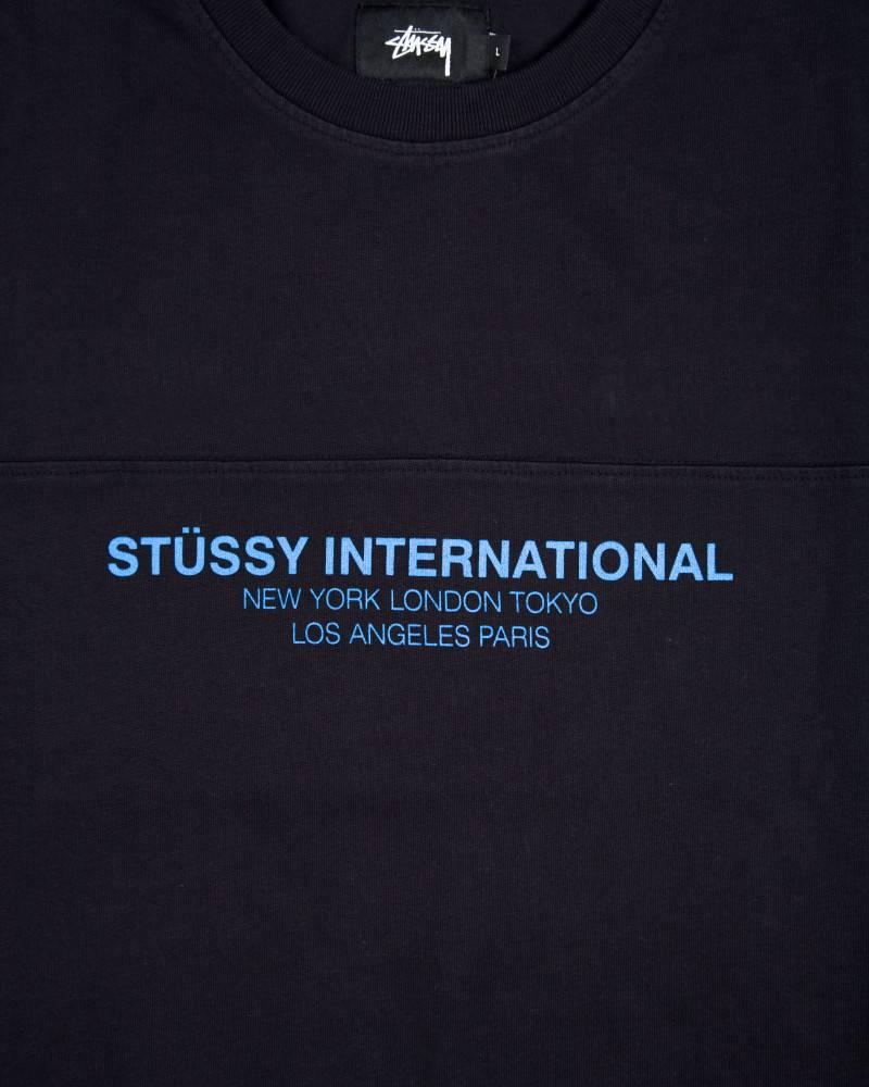 Футболка Stussy International Logo Navy