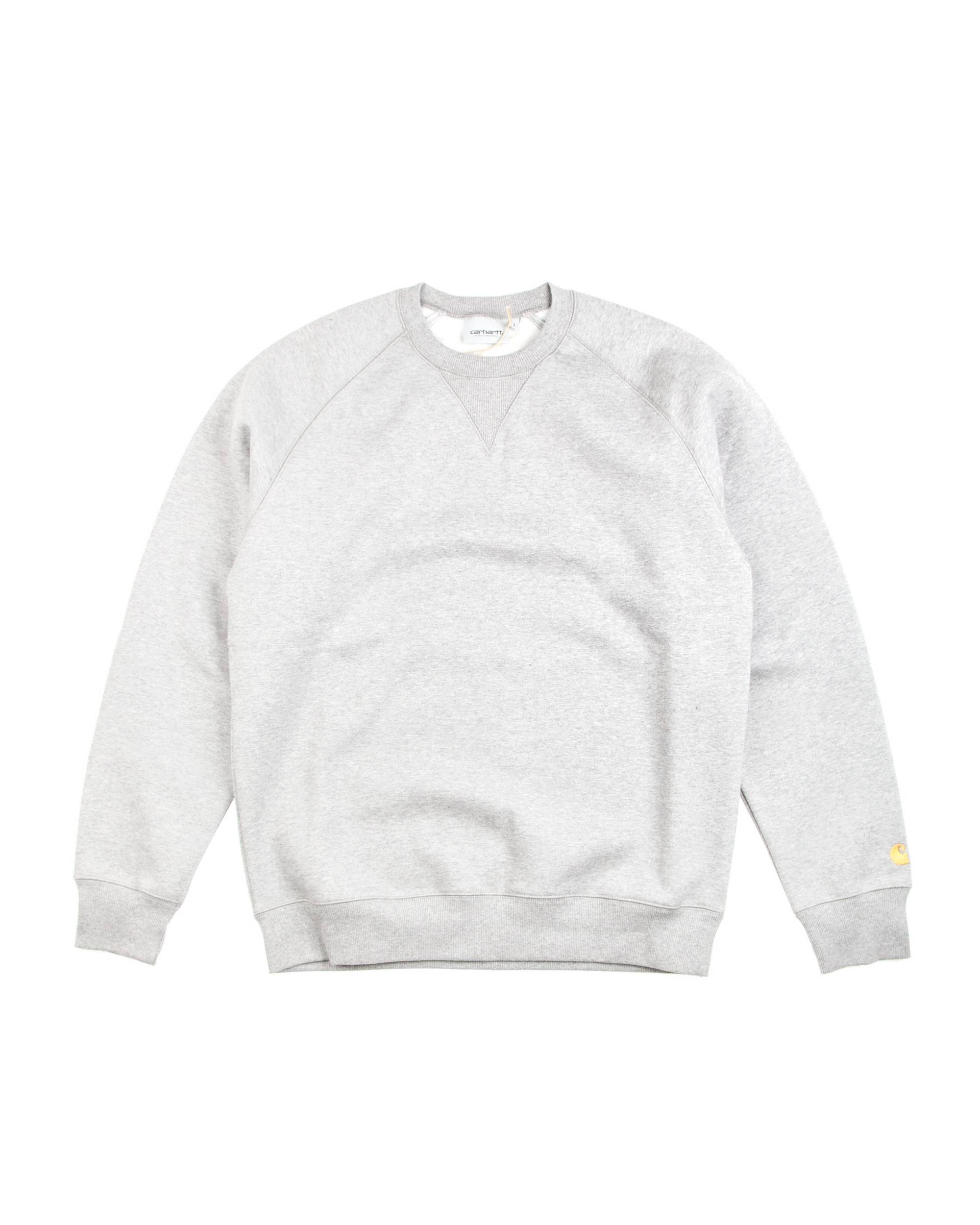 Толстовка Carhartt Chase Sweat Grey/Gold