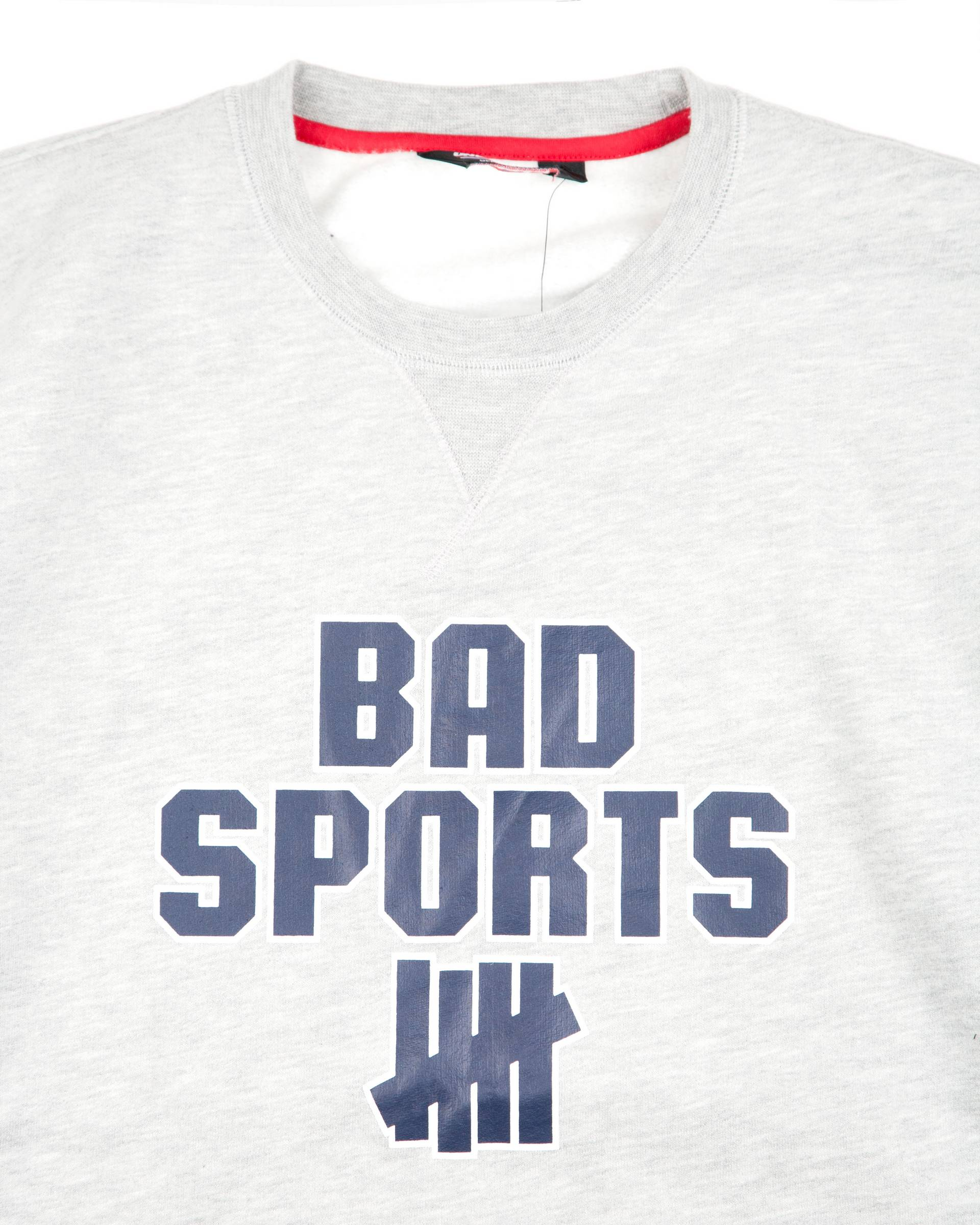 Толстовка Undefeated Bad Sports Crew Grey Heather