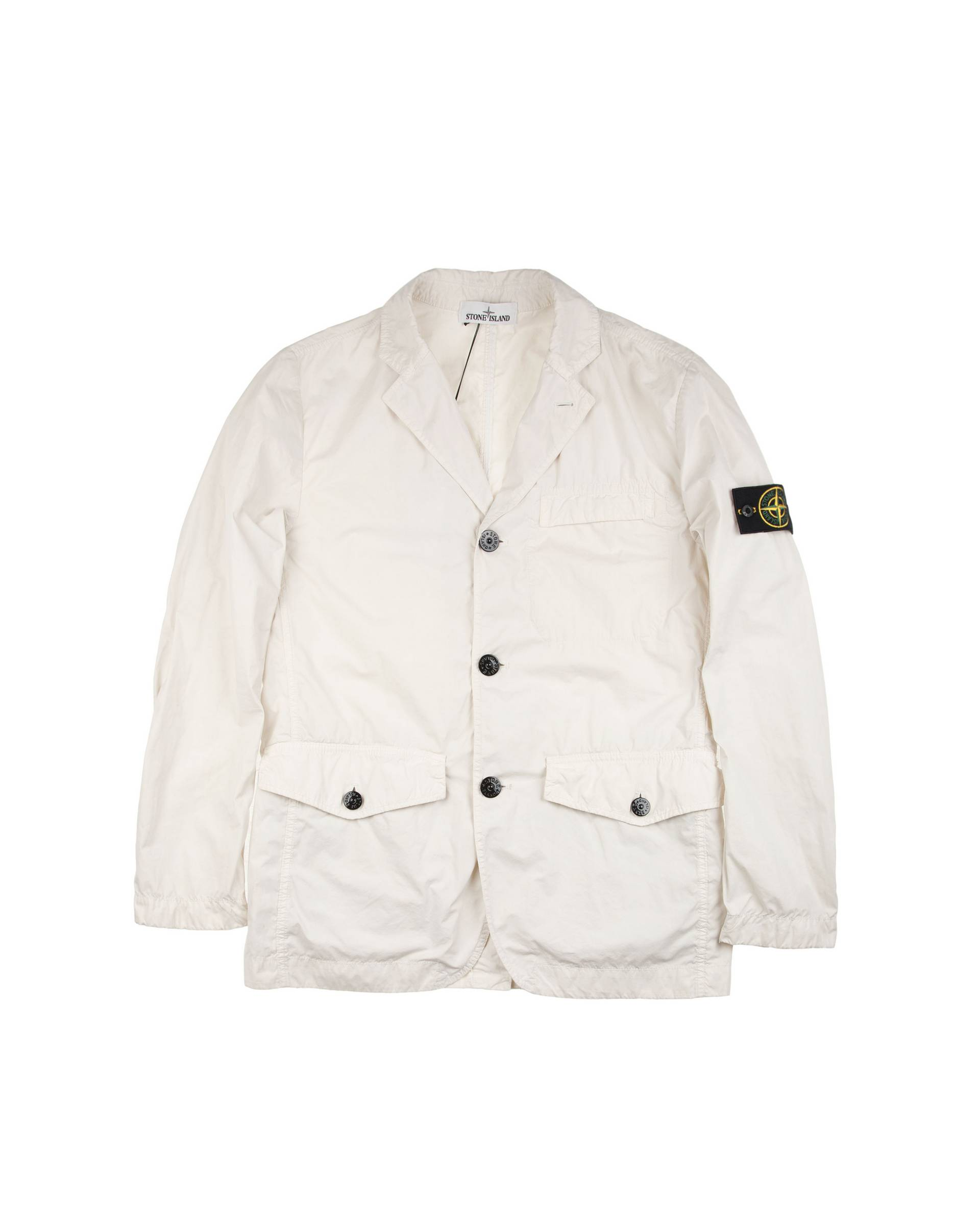 Пиджак Stone Island David Light- TC Белый