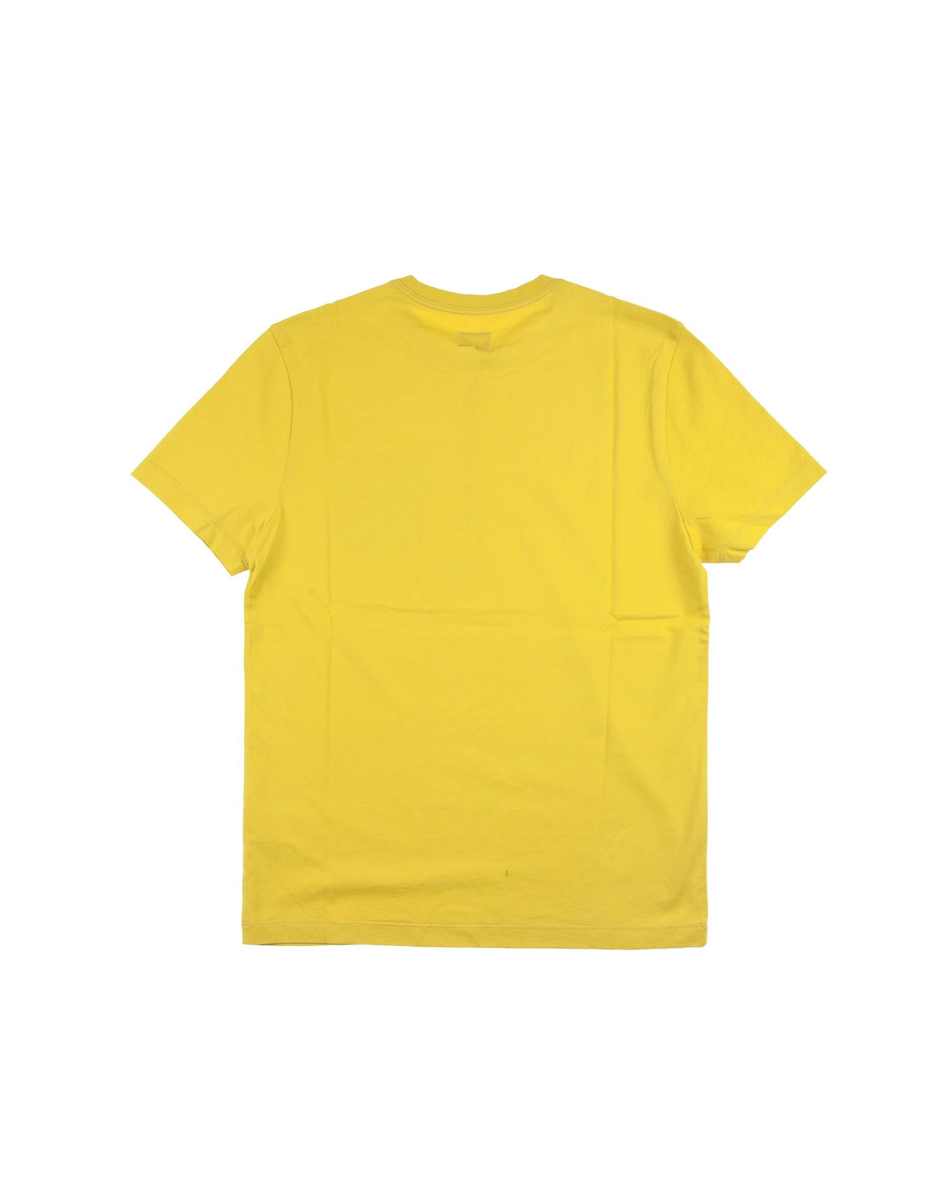Футболка C.P. Company Printed Lens Pocket Yellow