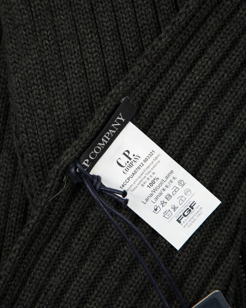 Шарф C.P.Company Olive Wool Scarf
