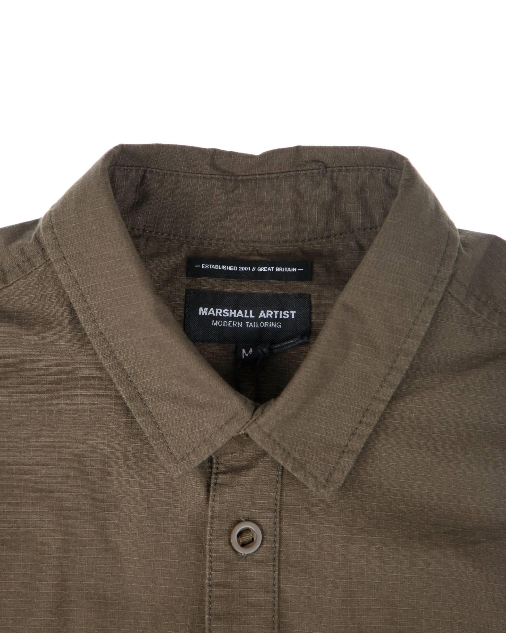 Ветровка Marshall Artist Ripstop Overshirt Khaki