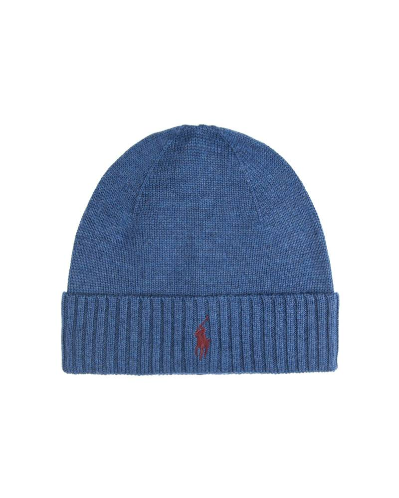 Шапка Ralph Lauren Wool Watch Hat Shale Blue