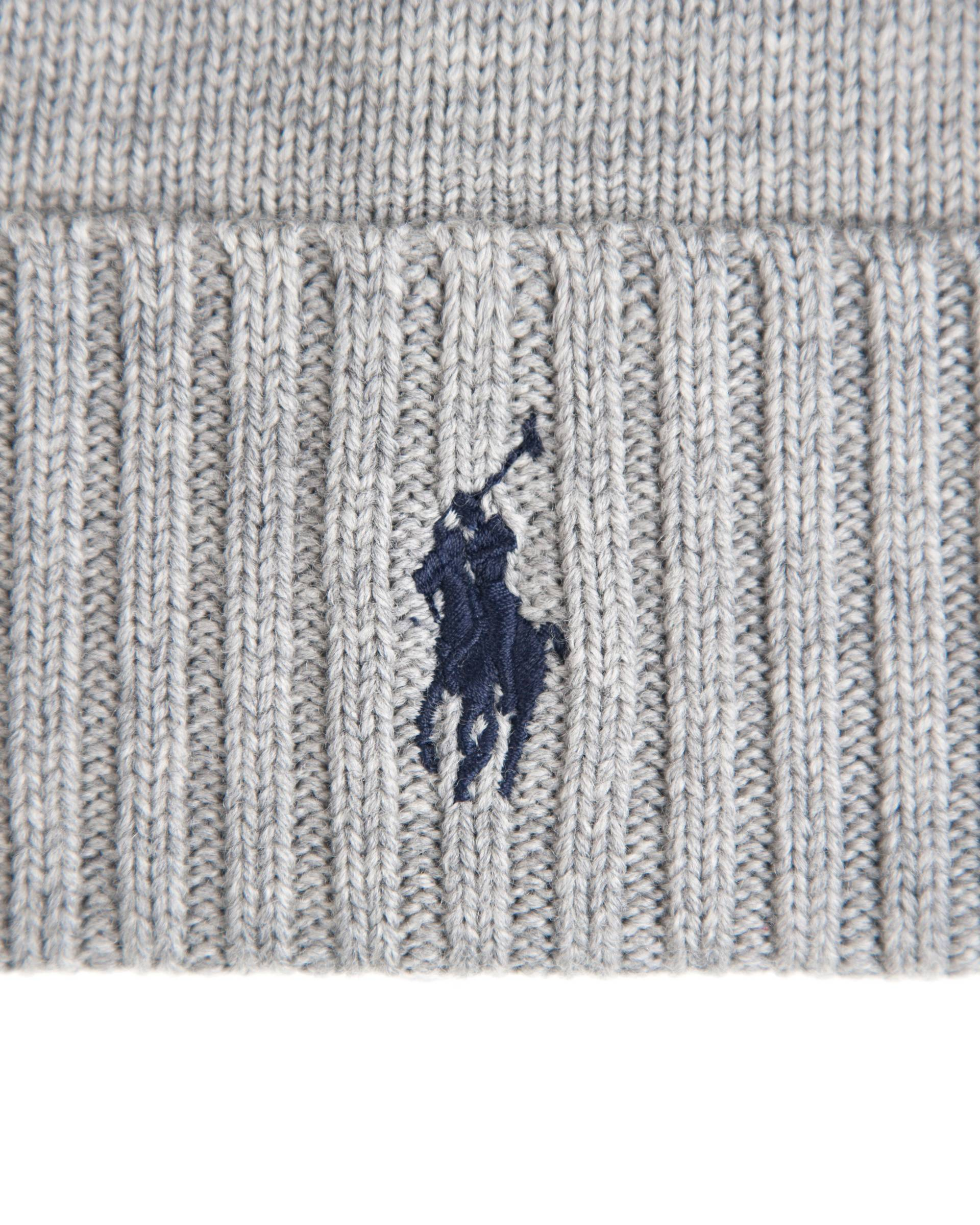 Шапка Ralph Lauren Wool Watch Hat Fawn Grey